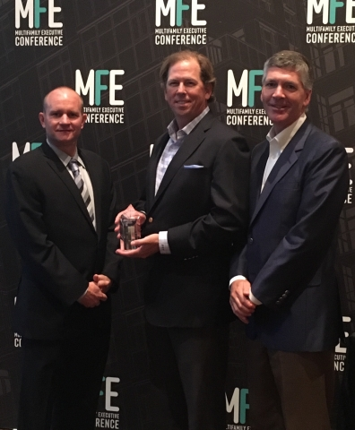 Multifamily Executive Honors Chris Finlay And Middleburg Real Estate Partners For Community Service